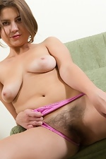 Super tease Emilia is at it again from We Are Hairy