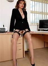 Office boss milf